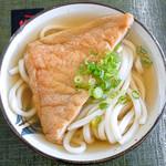 ことひら製麺 - 料理写真:かけそのまま+お揚げ