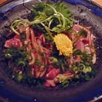 Yawarakubetteinagokoro - 地鶏のタタキ
