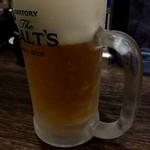 節骨麺 たいぞう - 生ビール