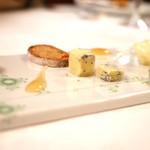 マダム・トキ - チーズ盛り合わせ