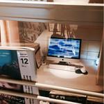 62202955 - ▲入り口すぐのMacの半個室