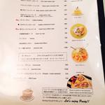 ゴルチャ Golden child cafe - ▲スイーツメニュー