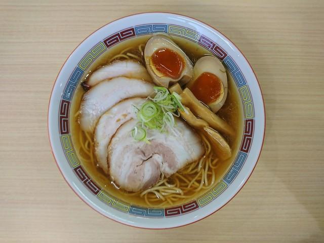 煮干鰮らーめん 圓 名古屋大須店 - 2017年1月 特製煮干しらーめん 980円