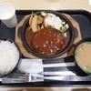 ミートマクハリ - 料理写真:デミグラスハンバーグ定食 ¥690-