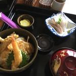 海の店ささき - 日替り  天丼 770円