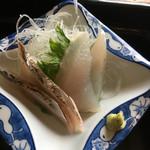 海の店ささき - 刺身 鰆のたたきとバトウ
