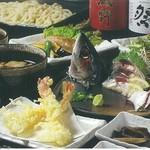 武蔵野うどん じんこ - 宴会コース写真