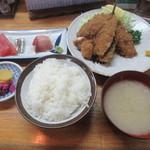 62205702 - 魚河岸定食(¥1,100)