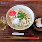 CanColor cafe - 沖縄そば650円+じーまーみー豆腐?円 →500円
