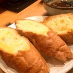 丸竹 - ガーリックトースト