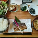 62210155 - 鰆の西京焼き定食