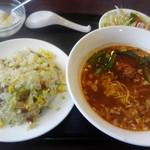 Kantonryouriajisaikan - 坦々麺炒飯¥680