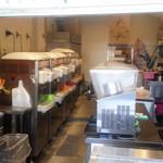 ソフトクリーム工房 - 厨房内
