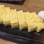 62213977 - 道産卵の出汁巻き玉子@580円