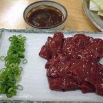 肉料理カオリちゃん - 今は無きレバ刺し