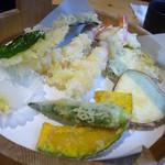 天ぷら すぎ山 - 天麩羅定食