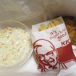 ケンタッキーフライドチキン - 料理写真:コールスノーM、ポテトS、ケンタッキー1P