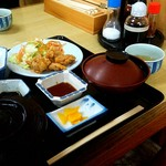 次郎長寿司 - 日替り定食 と 卓上