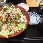 ハートフィールド - サーモン丼