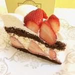 62219952 - ストロベリーチョコレートケーキ 880円