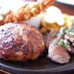 ウェリントン - 料理写真:ハンバーグ アップ