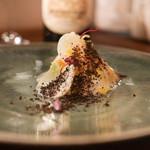 L'Octave Hayato KOBAYASHI - 青森産やりいか、かぶ、ピンクグレープフルーツに砕いたブラックオリーブ
