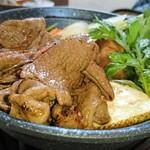 あぷかの森 - エゾシカ肉のすき焼き