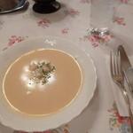 グリル桃山 - スープ