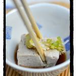 深山 - 檜原 深山 そば豆腐