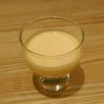 62222114 - [料理] 口直し 南瓜の冷製スープ アップ♪w