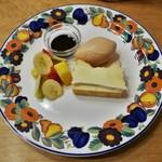 ムレスナティーハウス - チーズケーキ(1000円)