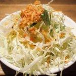 Bistro アサヒスタンド - インディアン 700円 のサラダ