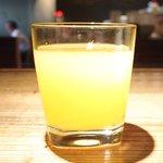 Bistro アサヒスタンド - インディアン 700円 のオレンジジュース