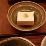 蕎麦 たじま - 2017.1 胡麻寄せ豆腐