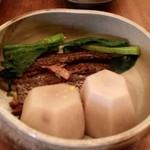 蕎麦 たじま - 2017.1 里芋とにしんの炊合せ