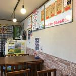 名代茶屋 永吉 - クレイジー剣さんのポスターが貼ってありました(^^)
