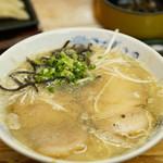無法松 - 料理写真:太肉麺