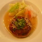 畠瀬本店食品部 - 鶏と大豆のハンバーグのあっぷ