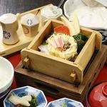 八かく庵 - 豆富しゅうまい蟹味噌仕立て
