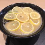 壽 - レモンそば
