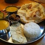 デリー - 料理写真:南インドランチ