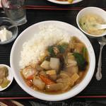 健・美・食 随苑 - 中華丼600円