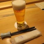 和海味処 いっぷく - 生ビール