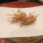 割烹 天ぷら 三太郎 - クルマエビのアゴ