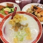 62242905 - お好み粥(お粥/一品/点心/杏仁豆腐/お茶)