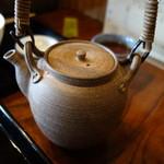 段葛 こ寿々 - 蕎麦湯