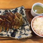 慶珉 - 料理写真:ダブル餃子セット