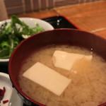 虎うま - お味噌汁