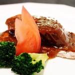 Kokyuu - 牛タンのステーキ黒胡椒風味