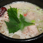 KOREAN DINING 長寿韓酒房 - 荏胡麻参鶏湯